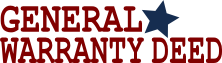 Free General Warranty Deed Form